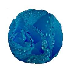 Blue Rose 15  Premium Round Cushion