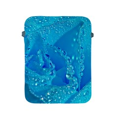 Blue Rose Apple Ipad 2/3/4 Protective Soft Case