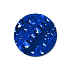 Waterdrops Magnet 3  (round)