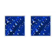 Waterdrops Cufflinks (Square)