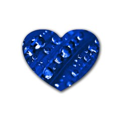 Waterdrops Drink Coasters 4 Pack (heart)