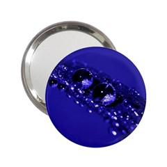 Waterdrops Handbag Mirror (2.25 )