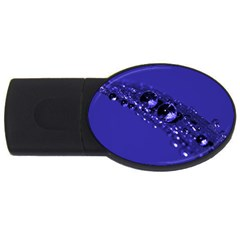 Waterdrops 1GB USB Flash Drive (Oval)
