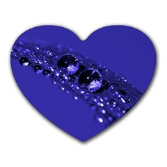 Waterdrops Mouse Pad (Heart)