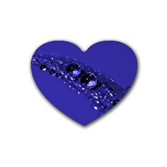 Waterdrops Drink Coasters (Heart)