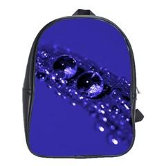 Waterdrops School Bag (Large)