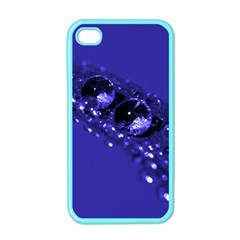 Waterdrops Apple Iphone 4 Case (color)