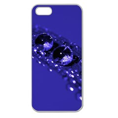 Waterdrops Apple Seamless Iphone 5 Case (clear)