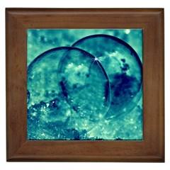 Magic Balls Framed Ceramic Tile