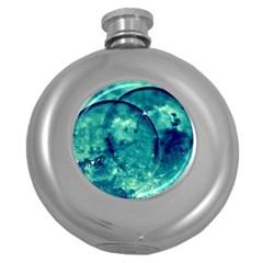 Magic Balls Hip Flask (round)