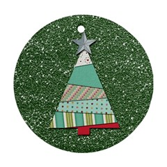 Oh Christmas Tree Round Ornament