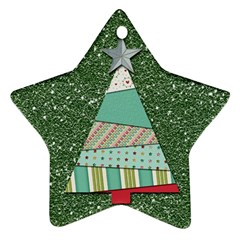 Oh Christmas Tree Star Ornament
