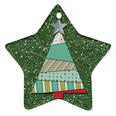 Oh Christmas Tree Star Ornament (two Sides)