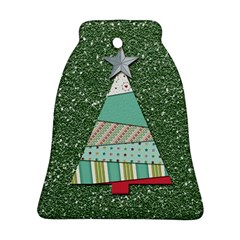Oh Christmas Tree Bell Ornament (two Sides)