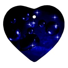 Blue Dreams Heart Ornament