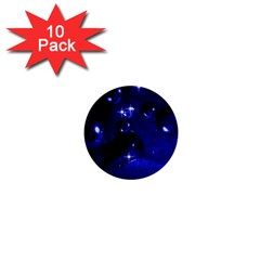 Blue Dreams 1  Mini Button (10 pack)