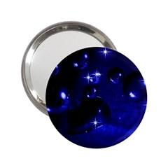 Blue Dreams Handbag Mirror (2.25 )