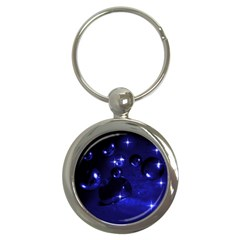 Blue Dreams Key Chain (Round)