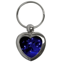 Blue Dreams Key Chain (Heart)