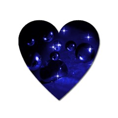 Blue Dreams Magnet (Heart)