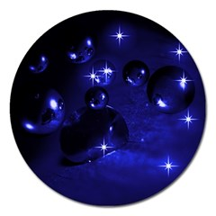 Blue Dreams Magnet 5  (Round)