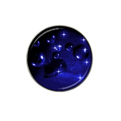Blue Dreams Golf Ball Marker 4 Pack (for Hat Clip)