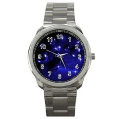 Blue Dreams Sport Metal Watch