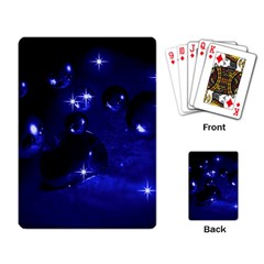 Blue Dreams Playing Cards Single Design