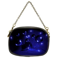 Blue Dreams Chain Purse (Two Sided)
