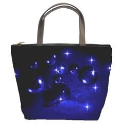 Blue Dreams Bucket Bag