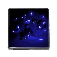 Blue Dreams Memory Card Reader with Storage (Square)