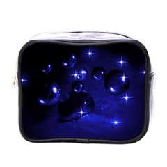 Blue Dreams Mini Travel Toiletry Bag (one Side)