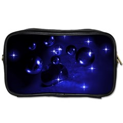 Blue Dreams Travel Toiletry Bag (two Sides)