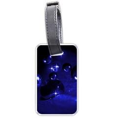 Blue Dreams Luggage Tag (One Side)