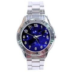 Blue Dreams Stainless Steel Watch (Men s)