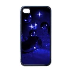 Blue Dreams Apple iPhone 4 Case (Black)