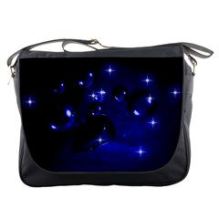 Blue Dreams Messenger Bag