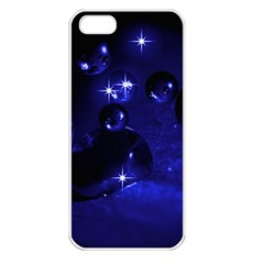 Blue Dreams Apple iPhone 5 Seamless Case (White)