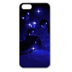 Blue Dreams Apple Seamless iPhone 5 Case (Clear)