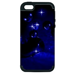 Blue Dreams Apple iPhone 5 Hardshell Case (PC+Silicone)