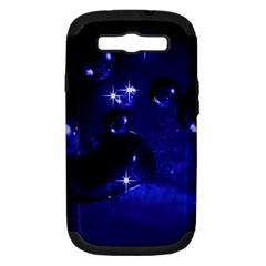 Blue Dreams Samsung Galaxy S III Hardshell Case (PC+Silicone)