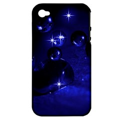 Blue Dreams Apple iPhone 4/4S Hardshell Case (PC+Silicone)