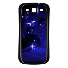 Blue Dreams Samsung Galaxy S3 Back Case (Black)