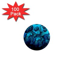 Magic Balls 1  Mini Button Magnet (100 pack)