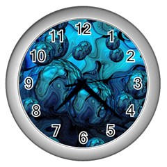 Magic Balls Wall Clock (Silver)