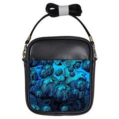 Magic Balls Girl s Sling Bag