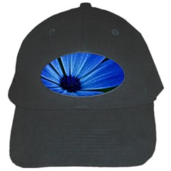 Flower Black Baseball Cap