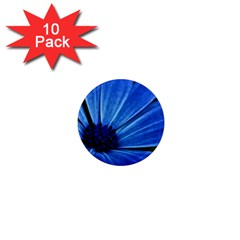 Flower 1  Mini Button Magnet (10 pack)