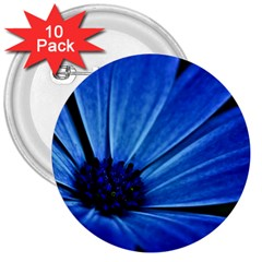 Flower 3  Button (10 pack)