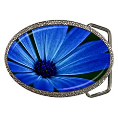 Flower Belt Buckle (Oval)